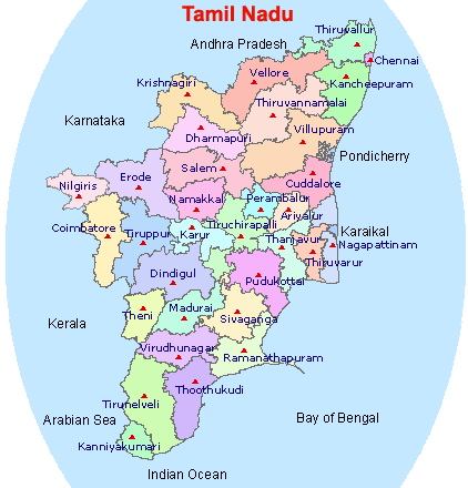 State level bankers committee tamil nadu geographical map and geographical map gumiabroncs Choice Image