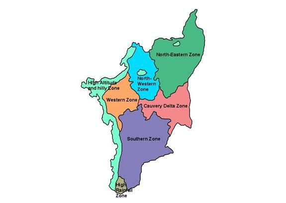 State level bankers 39 committee tamil nadu agriculture for Soil zones of india